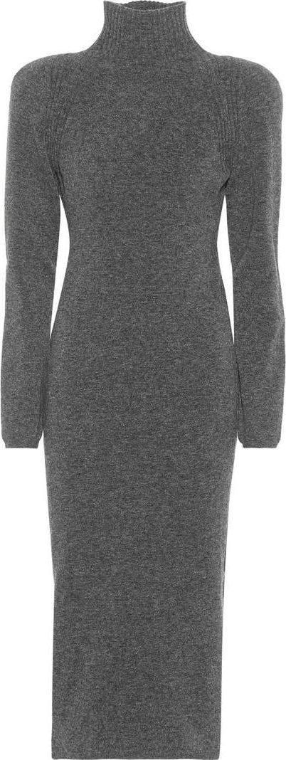Haider Ackermann Wool-blend sweater dress