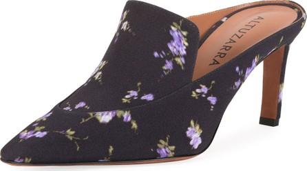 Altuzarra Davidson Floral-Printed Loafer Mules