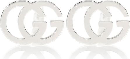 Gucci GG 18kt white gold earrings