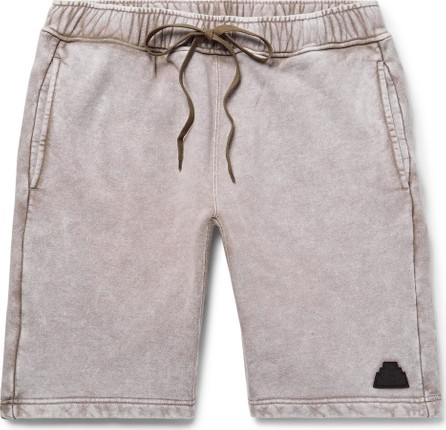 Cav Empt Acid-Washed Loopback Cotton-Jersey Drawstring Shorts