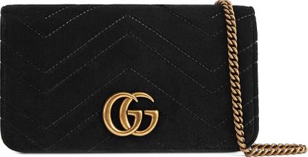 Gucci GG Marmont Velvet Crossbody Bag