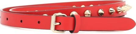 Christian Louboutin Exclusive to Mytheresa – Loubispikes leather belt