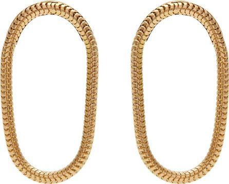 Fernando Jorge Yellow-gold Parallel earrings