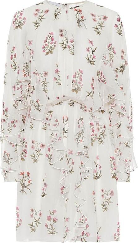 Giambattista Valli Floral silk crêpe de chine minidress