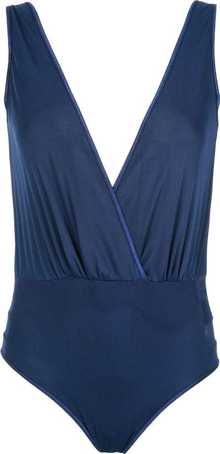 Andrea Bogosian V-neck bodysuit