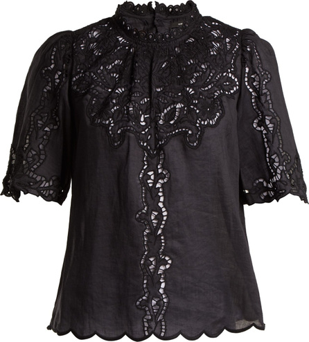 Isabel Marant Mumba broderie-anglaise top