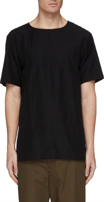 ATTACHMENT Side split poplin T-shirt