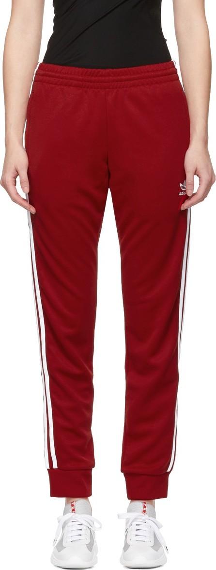 Adidas Originals Red SST Track Pants