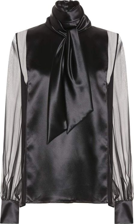 Lanvin Silk and satin top