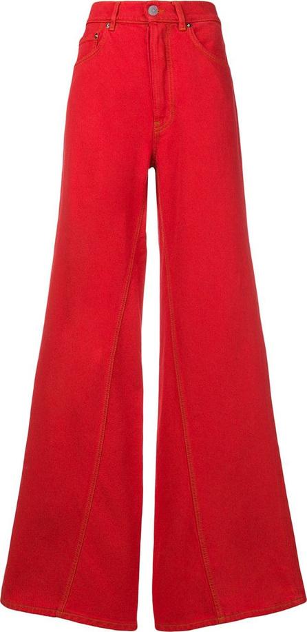 Ganni High-waist flared jeans