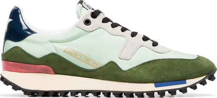 Golden Goose Deluxe Brand Green low top lace up leather sneakers