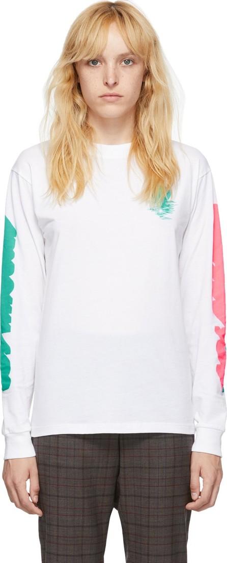 6397 White LA Long Sleeve T-Shirt