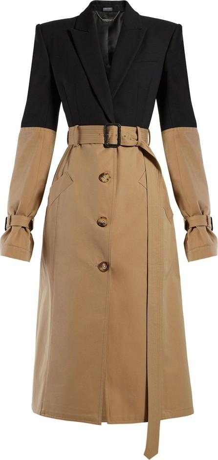 Alexander McQueen Blazer-panel trench coat