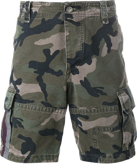 Valentino camouflage cargo shorts