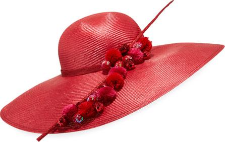 Marzi Large-Brim Ball Hat