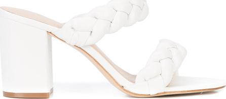 Rachel Zoe Double strap block heel sandals