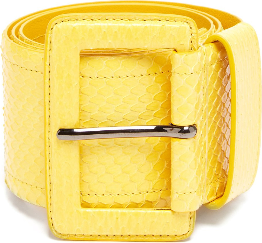 Carolina Herrera - Watersnake waist belt