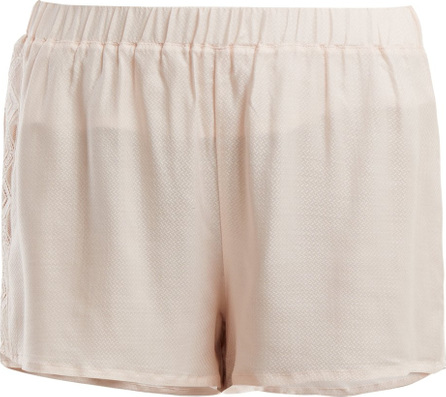 Hanro Liane lace-panel shorts