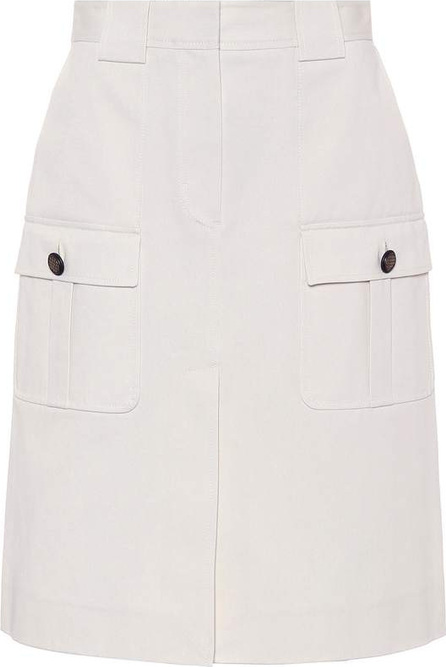 Bottega Veneta Cotton Pencil Skirt