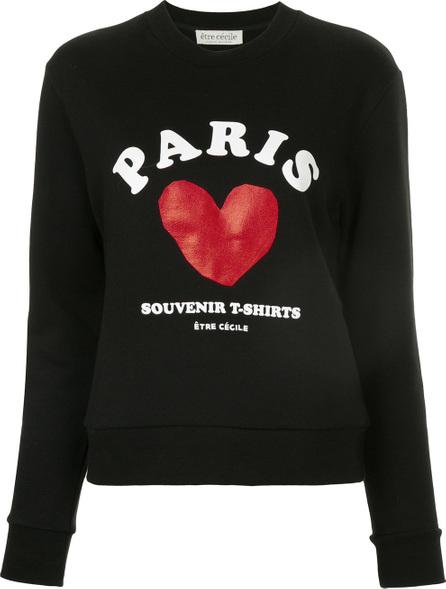 Etre Cecile Paris print sweatshirt