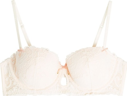 Heidi Klum Intimates Lace Balconette Bra