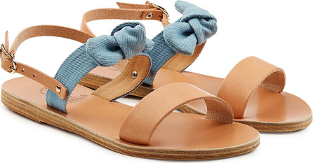 Ancient Greek Sandals Clio Bow Leather Sandals