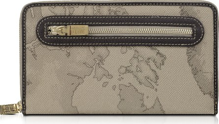 Alviero Martini 1A Classe Geo Print Zip Around Wallet