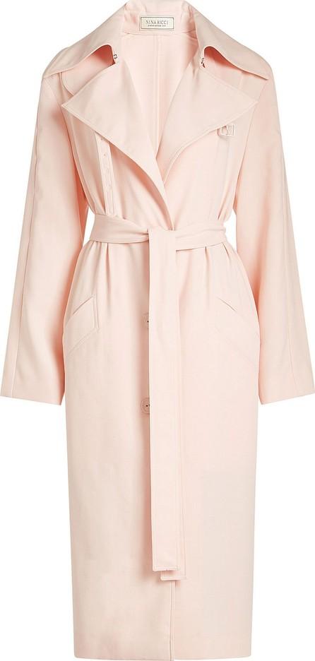 Nina Ricci Wool Coat with Belt