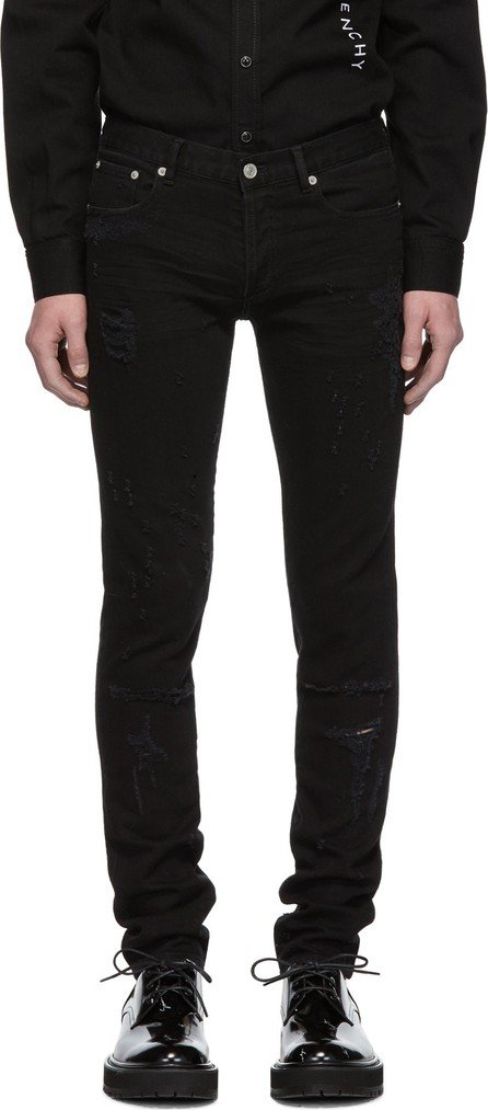 Givenchy Black Distressed Jeans