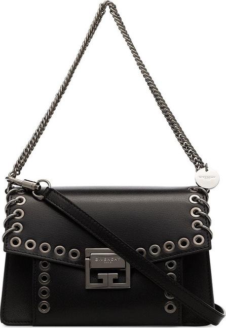 Givenchy Black GV3 leather crossbody bag