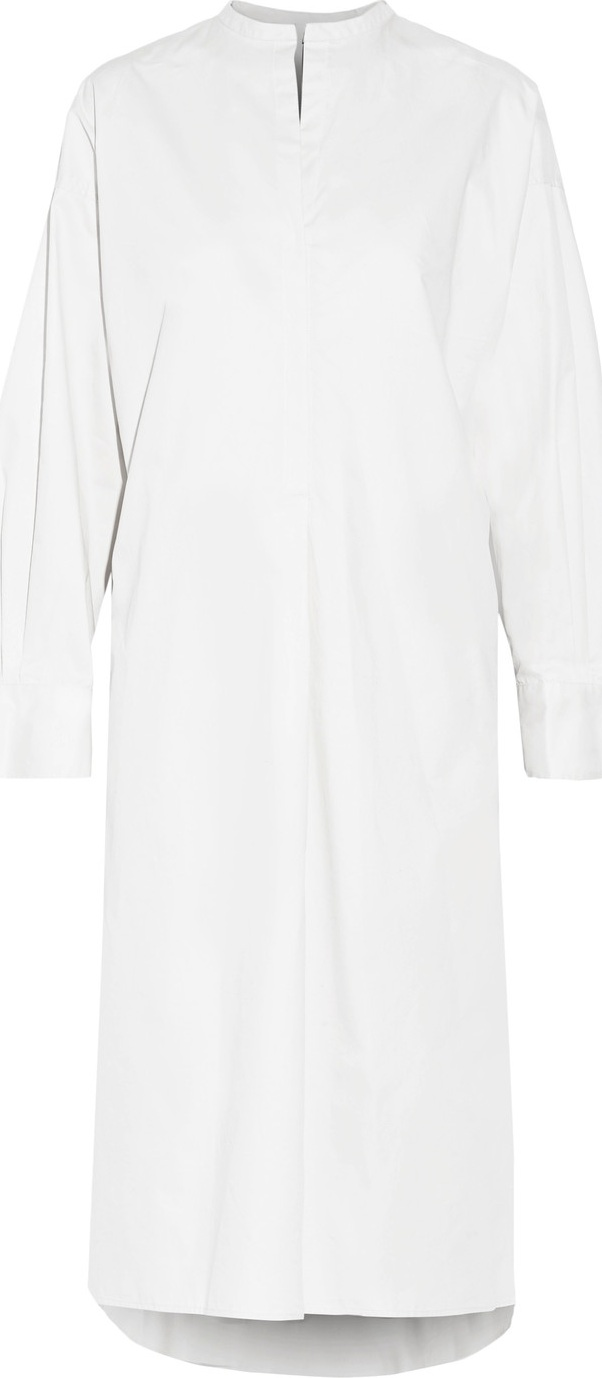 Isabel Marant - Nafy belted cotton-poplin midi dress