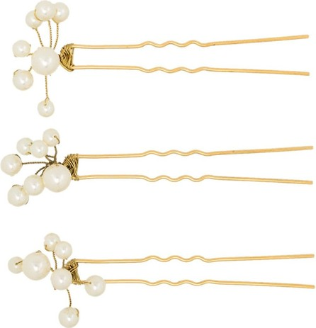 Jennifer Behr Primavera pearl hair pin