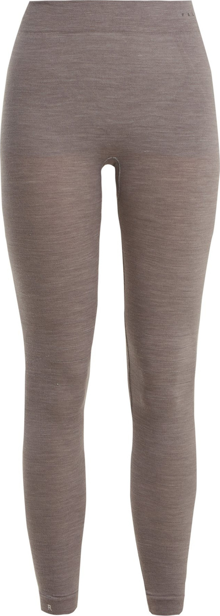 Falke High-rise wool-blend performance leggings