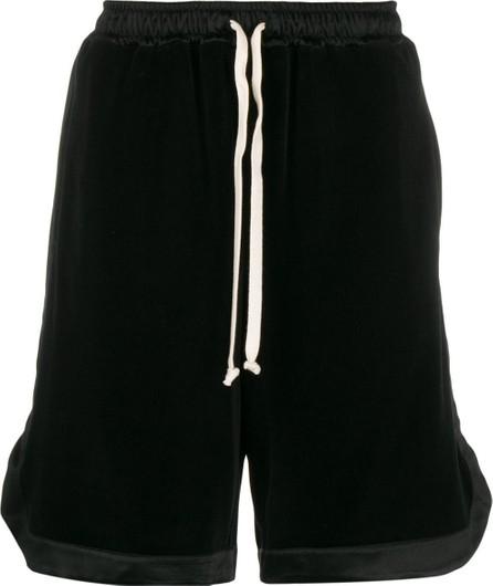 Gucci Drawstring velvet shorts