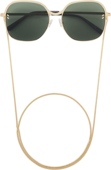 Stella McCartney Square sunglasses with chain