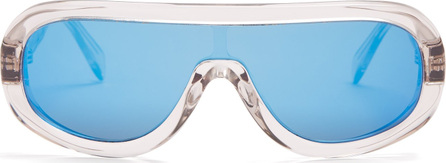 Celine Aviator-frame acetate sunglasses