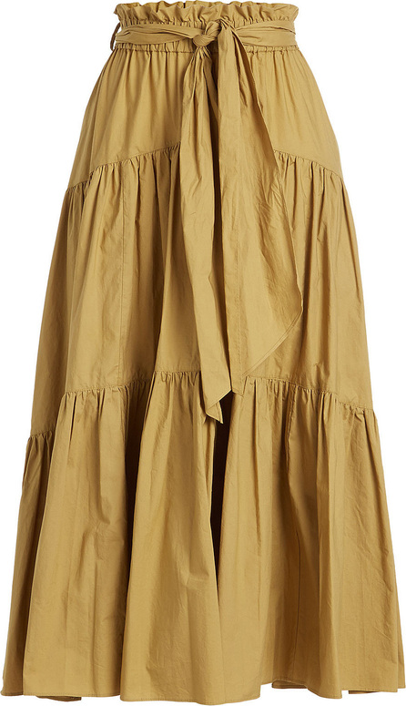 Proenza Schouler Cotton Poplin Midi Skirt