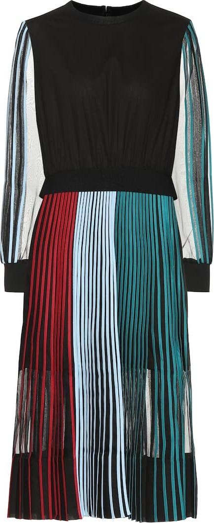 Bodice Studio Pleated cotton midi dress