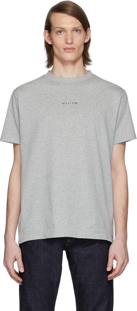 1017 ALYX 9SM Grey Logo Visual T-Shirt