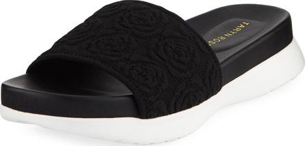 Taryn Rose Iris Comfort Knit Pool Slide Sandal