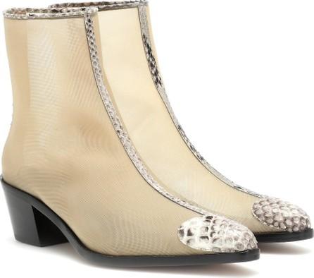 BOYY Milanese mesh ankle boots