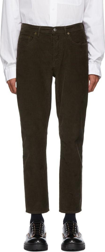 Acne Studios Blå Konst Brown Blå Konst Corduroy River Trousers