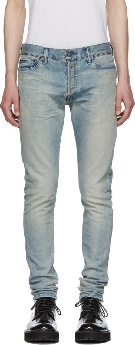 John Elliott Indigo 'The Coast 2' Jeans