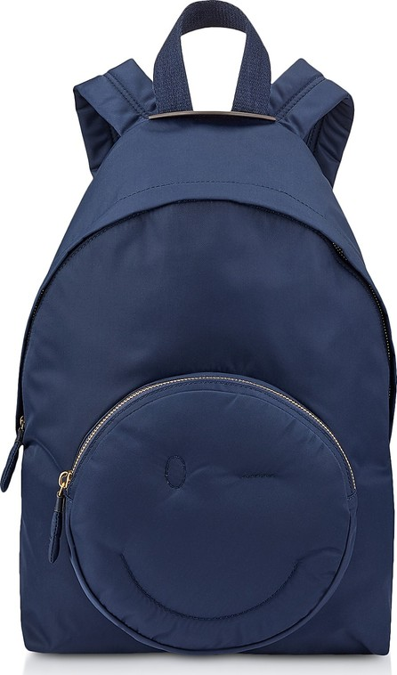 Anya Hindmarch Marine Nylon Chubby Wink Backpack