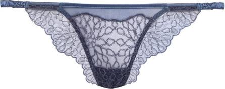 Coco De Mer Lazuli lace Brazilian briefs
