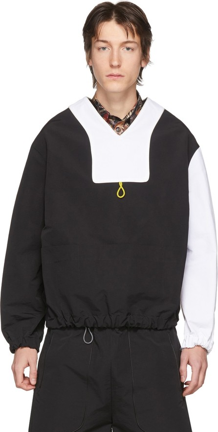 Boramy Viguier SSENSE Exclusive Black & White Twill Pullover