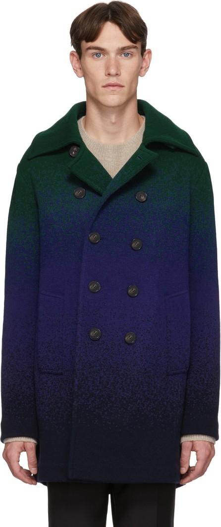 Missoni Blue & Green Dégradé Peacoat