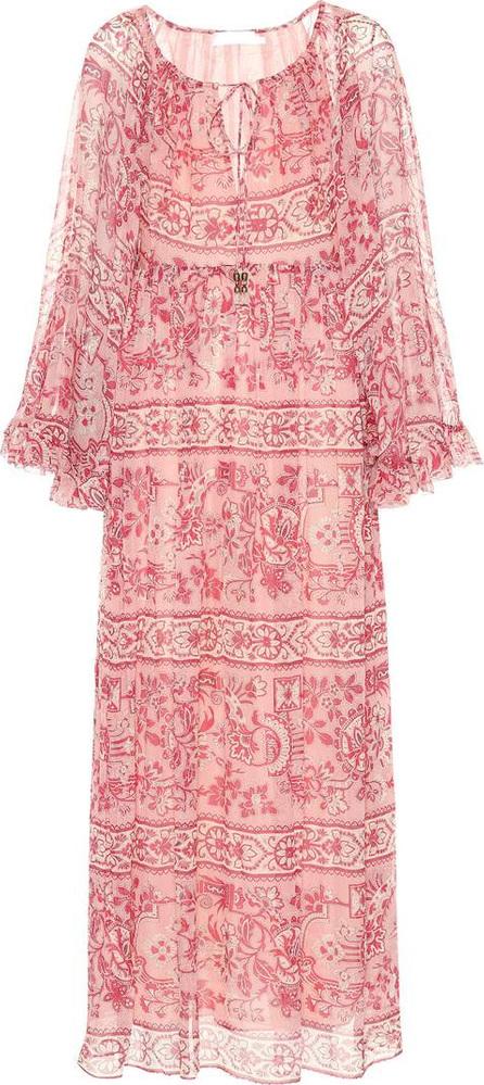 Zimmermann Castile printed silk midi dress