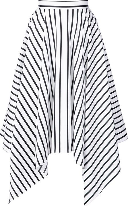 Adam Lippes striped handkerchief skirt