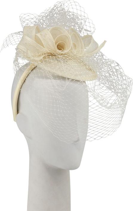 Marzi Fascinator Hat w/ Flowers & Netting